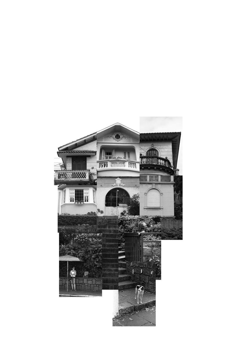 (des)construções #17 fotografia e colagem 67 x 100 cm
