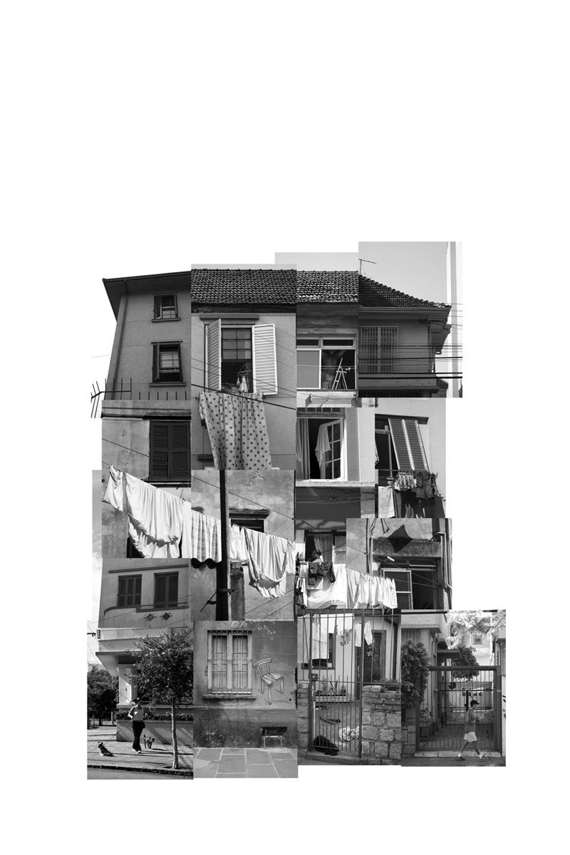 (des)construções #5 fotografia e colagem 85 x 105 cm