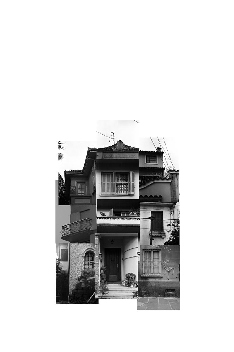 (des)construções #6 fotografia e colagem 65 x 85 cm