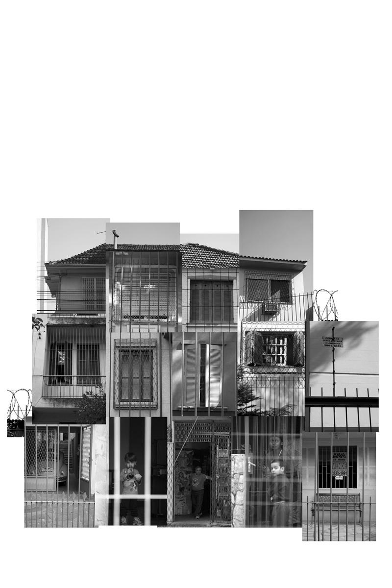 (des)construções #7 fotografia e colagem 107 x 97 cm