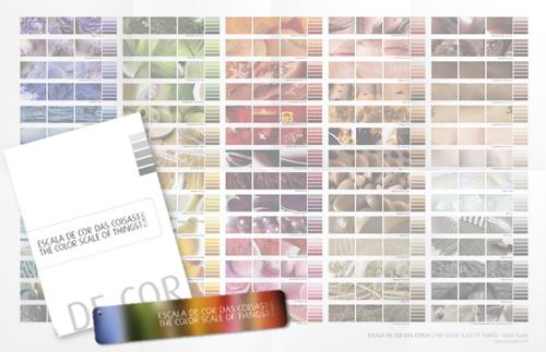 Escala de Cor das Coisas - kit promo