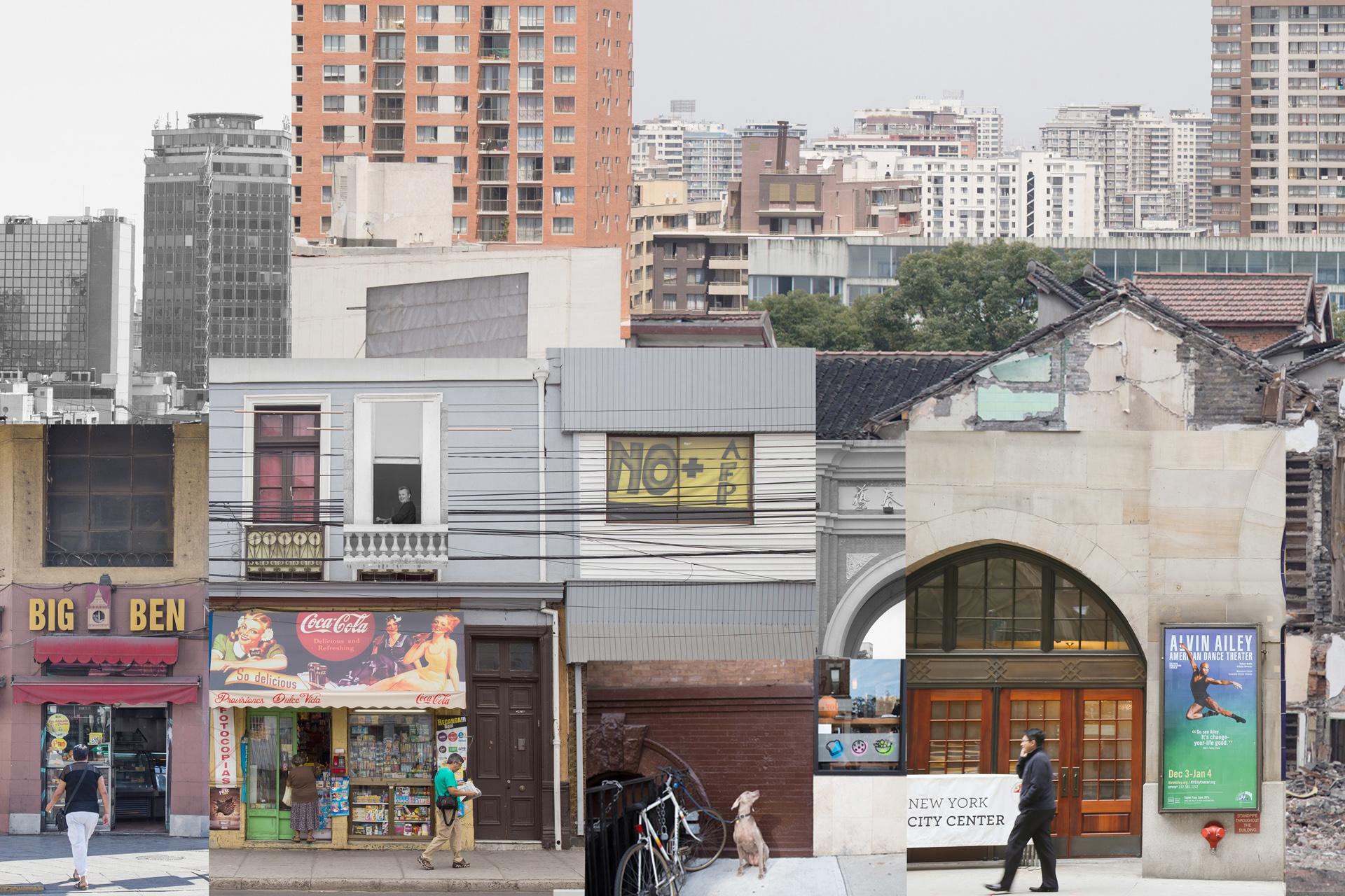 random city 7 - new york - valparaiso - shanghai - adelaide